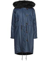 5preview Coat - Blue