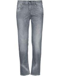 Pence Denim Trousers - Grey