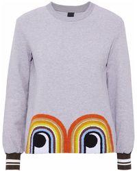 Mother Of Pearl Sweatshirt - Grau