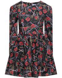 Berna Short Dress - Black