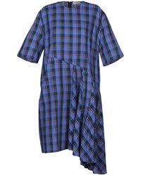 Public School Vestido por la rodilla - Azul