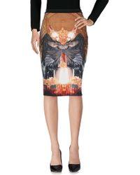 Philipp Plein Knee Length Skirt - Multicolour