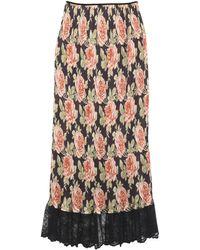 Paco Rabanne Long Skirt - Multicolour