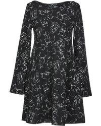 Sportmax Code Short Dress - Black