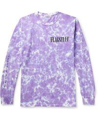 Flagstuff T-shirt - Violet