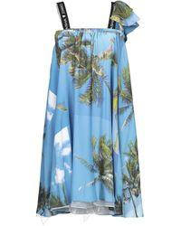 Natasha Zinko Short Dress - Blue
