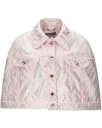Moschino Capes & Ponchos - Pink