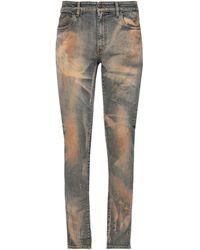 B-Used Pantalon en jean - Bleu