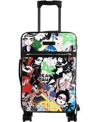 DSquared² Wheeled Luggage - Black