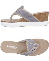 Superga - Toe Strap Sandal - Lyst