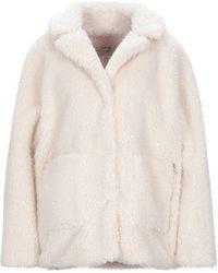 Liu Jo Teddy Coat - White