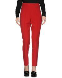 Blugirl Blumarine Trousers - Red