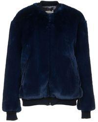 Golden Goose Teddy Coat - Blue