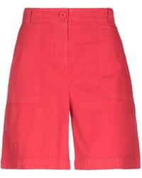 Armani Exchange Shorts & Bermuda Shorts - Red