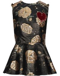 Dolce & Gabbana Top - Negro
