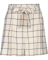Marella Knee Length Skirt - Natural