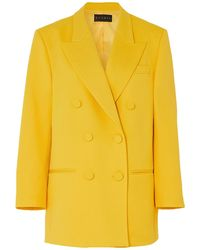 Dundas Suit Jacket - Yellow