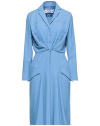 Carven Short Dress - Blue