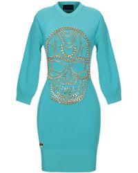 Philipp Plein Short Dress - Blue