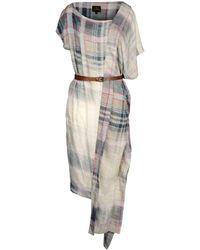 Vivienne Westwood Anglomania Knee-length Dress - Natural