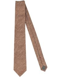 Brunello Cucinelli Tie - Brown