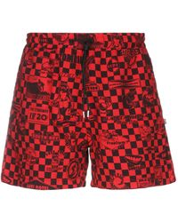 McQ Shorts - Red
