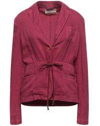 John Galliano Suit Jacket - Purple