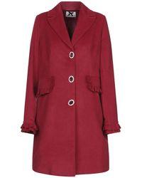 No Secrets Coat - Red
