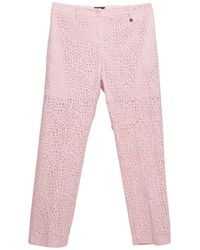 Liu Jo Trousers - Pink