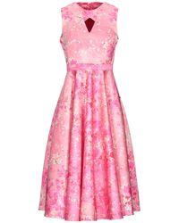 Piccione.piccione Midi Dress - Pink