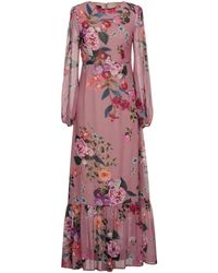 Mariagrazia Panizzi Vestido largo - Multicolor