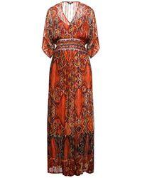 Desigual Langes Kleid - Mehrfarbig