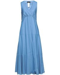 Sportmax Code Vestido largo - Azul