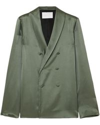 Asceno Suit Jacket - Green