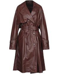 Christian Wijnants Overcoat - Brown