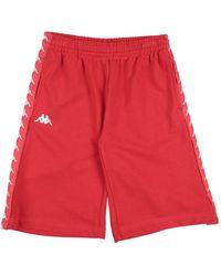 Kappa Shorts & Bermuda Shorts - Red