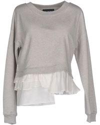Boutique Moschino Sweatshirt - Grey