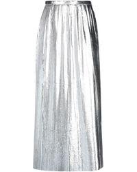 Maison Margiela Long Skirt - Metallic