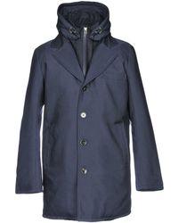 Billtornade Manteau long - Bleu