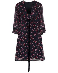 Anna Sui Short Dress - Black