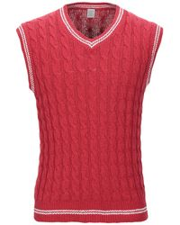 Eleventy Pullover - Rouge