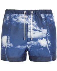 Orlebar Brown Beach Shorts And Trousers - Purple