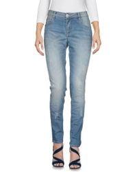 P.A.R.O.S.H. Denim Trousers - Blue
