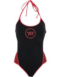 Bikkembergs One-piece Swimsuit - Black