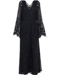 Miguelina Vestido largo - Negro