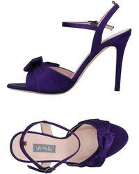 SJP by Sarah Jessica Parker Sandals - Purple