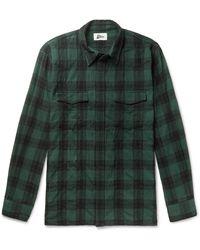 Pilgrim Surf + Supply Camisa - Verde