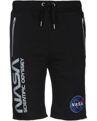 Alpha Industries Shorts & Bermuda Shorts - Black