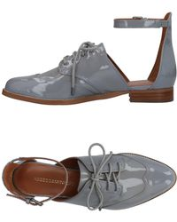 Rebecca Minkoff Lace-up Shoe - Gray
