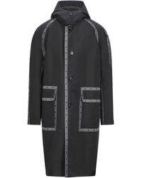Versace Overcoat - Black